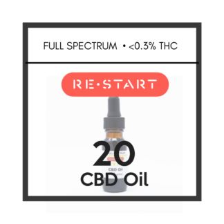 Restart CBD Oil Full Spectrum 20mg/mL