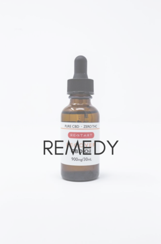 RESTART CBD Oil - REMEDY 100mg per Ml